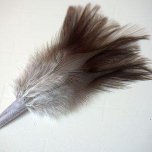 A kwaliteit-Chevron hackles-Coq de Leon-small Indio-zadel-hoendersoort-spanje-leon-fibers-tails-wings-sedges-dun imitaties-gespikkeld-nekharen-vliegbinden-venlo