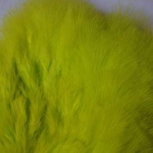 Chevron -Chikabou-patch-chartreuse-kwaliteits patch- Mini Marabou- wooly buggers-damsel-nymphen-natte vliegen-Mikael Frodin-tubeflies- Frede-Polar-Magnus vliegen-zeeforel-hackle-vliegbinden-venlo