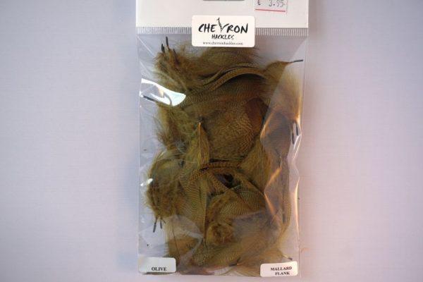 mallard-flankveren-natte vliegen-droge vliegen-vliegbinden-wilde eend-Chevron-olive-venlo