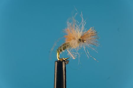 CDC Callibaetis Biot Spinner 1000vliegen