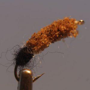 1000vliegen.nl-cased caddis-nymph-schietmot-kiezel-forel-vlagzalm-barbeel-voorn-vliegvissen-venlo