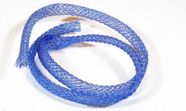 1000vliegen-nl-Flexi Braid Tubing Blue-Pearl -body-braid-zoutwater-vliegen-vliegbinden-zoutwater-streamers-roofvis-bindvice-vliegvissen-vliegvisser-venlo