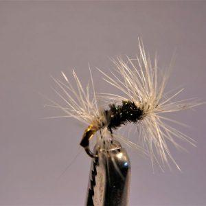 1000vliegen.nl, drijvend, droge vliegen speciaal, double badger, zomervlieg,forel, venlo, vijver, river, vliegvissen, vliegvisser, vlagzalm, wf lijn