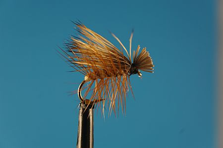 Elk Hair Caddis L 1000vliegen