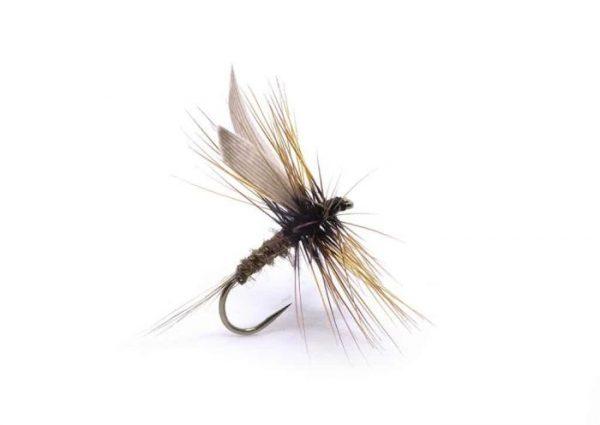 1000vliegen.nl-droge vlieg-hares ear-G.R. hares Ear-forel-dry fly-vliegvissen-rivier-vliegvisser-drijvend-hazenoor-venlo