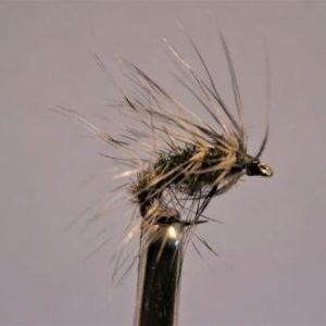 1000vliegen.nl, drijvend, droge vliegen speciaal, Humphreys Cress Bug,forel, venlo, vijver, river, vliegvissen, vliegvisser, vlagzalm, wf lijn