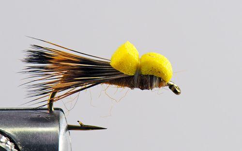 1000vliegen.nl, Balloon sedge, drijvend, Droge vliegen speciaal, forel, rivier, sedge, venlo, vijver, vlagzalm, vliegvissen, vliegvisser, wf lijn