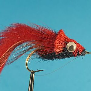Threadfin Shad Red Black 1000vliegen