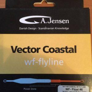 uitverkoop 1000vliegen.nl vliegvislijnen-A, Jensen- Vector Coastal- WF flyline_ WF float klasse 6-WF float klasse 8-zoutwaterlijn-zeeforel-zeebaars-denemarken-afstand werpen-vliegvissen-venlo