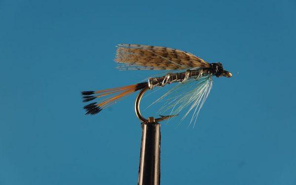 Teal Blue and Silver 1000vliegen