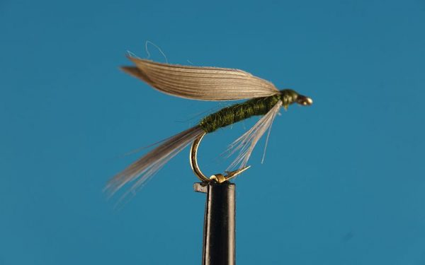 Blue Winged Olive / BWO 1000vliegen