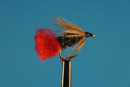 Brown Hackle Peacock 1000vliegen