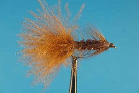 Woolly BuggerBrown 1000vliegen