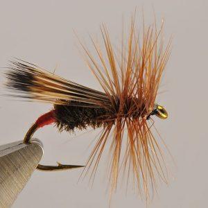 1000vliegen.nl-droge vlieg-walkers sedge-segde-richard walker-forel-vliegvissen-klassieker-vliegvisser-rivier-venlo