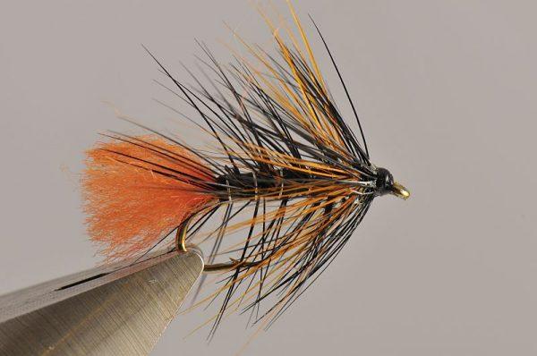 1000vliegen.nl-natte vlieg-black and orange- dead drift-intermediate lijn-floating lijn-vliegvissen-vliegvisser-wet fly-venlo