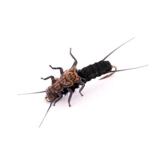 1000vliegen-nl-forel-forellenvijver-haakmaat-12-natuurgetrouw-zwarte-steenvlieg-realistic-fly-realistische-vlieg-regenboog-forel-rivier-steenvlieg-stonefly-nymph-black-tencamo-tenkara-ven