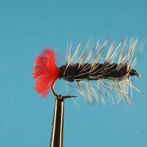 Woolly Worm Black 1000vliegen