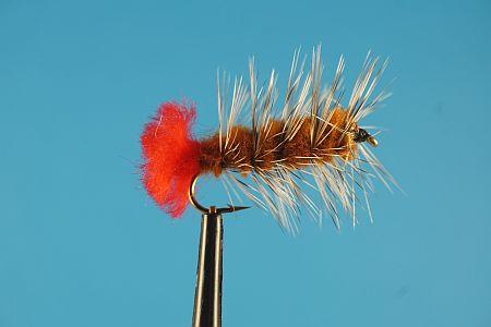 Woolly Worm Brown 1000vliegen