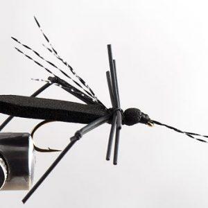 1000vliegen.nl, drijvend, insecten,terrestrials, Cricket Foam, krekel, forel, venlo, vijver, river, vliegvissen, vliegvisser, vlagzalm, wf lijn