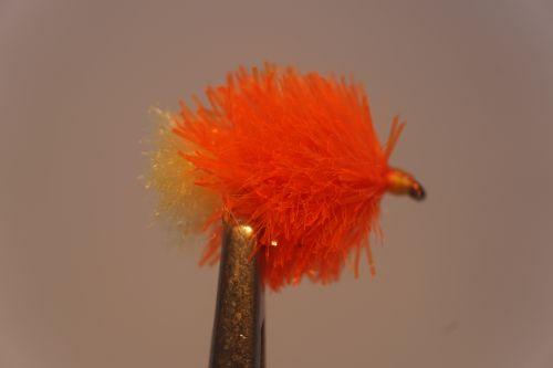 1000vliegen.nl, karper, kopvoorn, BLOB, fluff hot orange FAB ,forel , baars, venlo,vliegvissen, vliegvisser, rivier, reservoir, wf lijn, leader, tippet