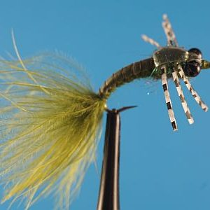 Damsel Bagger Olive 1000vliegen