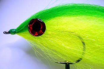 1000vliegen.nl, beast, Mcfluffchcuker, MFC Green Monster, reservoir, rivier, roofvis, snoek, snoekstreamer, streamer, streamer roofvis, venlo, vliegvissen, vliegvisser