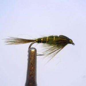 1000vliegen-nlnymphen-olive-special-venlo-forel-larvevlagzalmrivierbeetverklikkervliegvissen-vliegvisser-wf-lijn