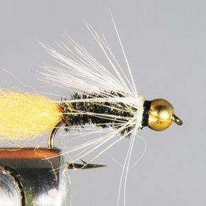 1000vliegen.nl, tungsten, tungsten nymph, Orange Tag Yellow - Orange, forel, regenboogforel, baars, voorn, venlo, vijver, river, polder,vliegvissen, vliegvisser, vlagzalm, wf lijn