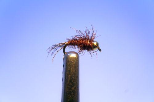 1000vliegen.nl, nymphen, PT Micro Nymph BH, venlo, forel, vlagzalm, vliegvissen, vliegvisser, rivier, reservoir, beetverklikker, wf lijn, leader, tippet