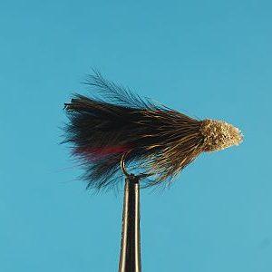 Black Marabou Mudler 1000vliegen