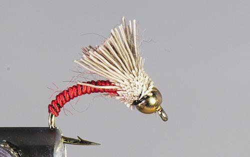 1000vliegen.nl, tungsten, tungsten nymph, Serendipity Red , forel, regenboogforel, baars, voorn, venlo, vijver, river, polder,vliegvissen, vliegvisser, vlagzalm, wf lijn