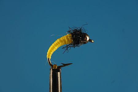 Yellow & black Tungsten 1000vliegen