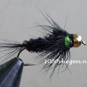 1000vliegen.nl,nymphen, Montana Green BH, venlo, , voorn, witvis, beekjes, polder, forel, baars, forel,,river,beetverklikker,vliegvissen, vliegvisser, , wf lijn