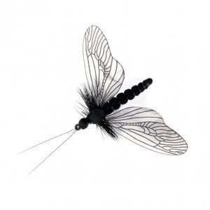 1000vliegen.nl,Caddisfly Spent Color Black, , forel, forellenvijver, , spent, natuurgetrouw, realistic fly, realistische vlieg, regenboog forel, rivier, Tencamo, tenkara, venlo, vliegvissen, vliegvisser