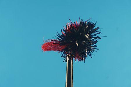 Blob Bibio Black-Red 1000vliegen