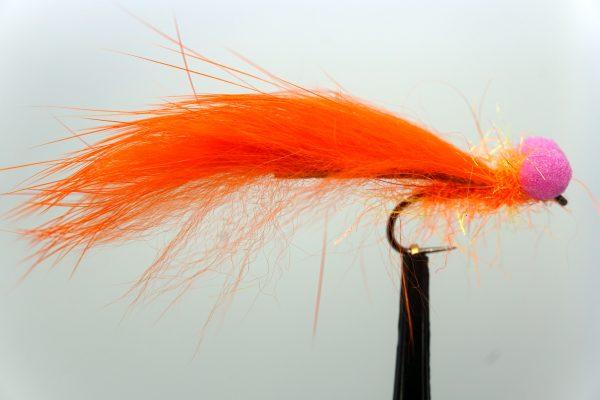 1000vliegen.nl, booby zonker orange, forel, forellenvijver, intermediate vliegenlijn, regenboog forel, reservoir, ronde bleek, venlo, vliegvissen, vliegvisser, zinklijn