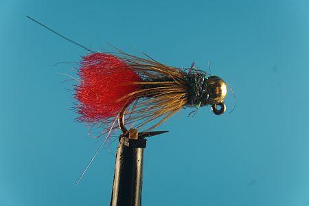 Red Tag Nymph Tungsten 1000vliegen