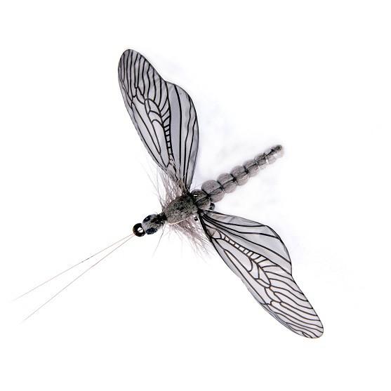 Caddisfly Spent Light Gray 1000vliegen.nl