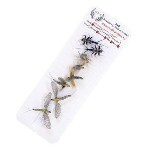Realistic mayfly pack 1000vliegen.nl