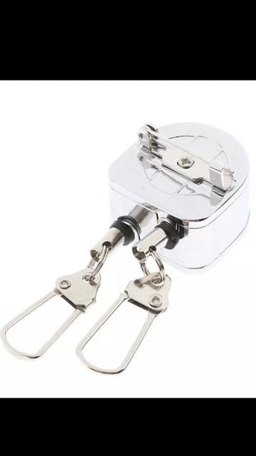 Zinger Double Pin-on reel 1000vliegen.nl